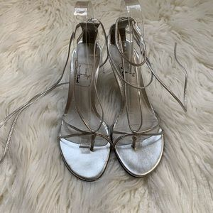 Touch of Nina Ankle Tie Dress shoe size 7.5